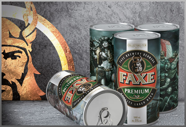 FAXE | PREMIUM QUALITY BEER IMPORTED FROM DENMARK